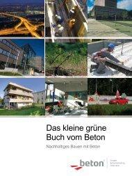 Das kleine grüne Buch vom Beton - VÖB Verband Österreichischer ...