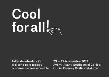Taller de introducción al diseño para todos y la comunicación ... - Inici