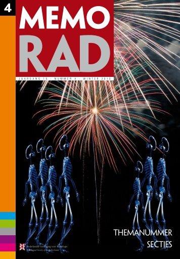 Memorad - Nederlandse Vereniging voor Radiologie