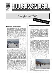 März - Mai [PDF, 678 KB] - Gemeinde Hausen am Albis