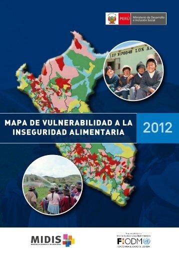 mapa de vulnerabilidad a la inseguridad alimentaria - Ministerio de ...