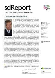 ANTICIPER LES CHANGEMENTS - CCB