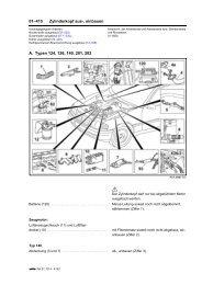 01–415 Zylinderkopf aus-, einbauen A. Typen 124, 126 ... - Motor-Talk