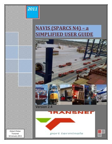 table of contents navis