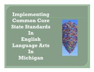 Implementing Common Core State Standards In English Language ...