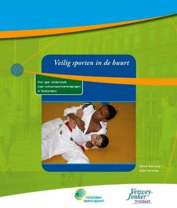 Rapport Veilig sporten in de buurt - Rotterdam Sportsupport