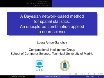 A Bayesian network-based method for spatial statistics. An ...