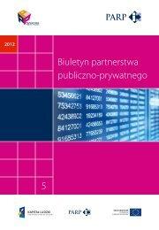 Biuletyn ppp - numer 5/12 - Partnerstwo publiczno-prywatne
