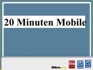 20 Minuten macht mobil - Goldbach Group