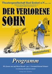 Programm - Theatergesellschaft Bad Endorf eV