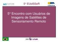 MS3/INPE: Sistema Brasileiro de Gravação ... - INPE-DGI