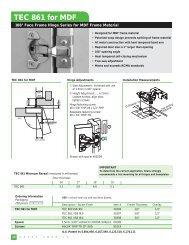 TEC 861 for MDF