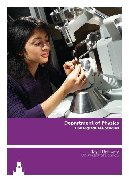 Department of Physics - Royal Holloway, University of London