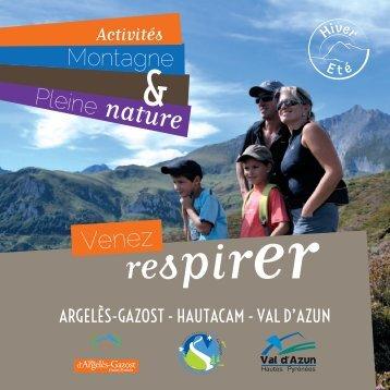 Activités Montagne et Pleine Nature - Vallées des Gaves