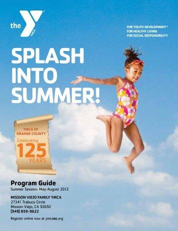 splash into summer! - YMCA of Orange County