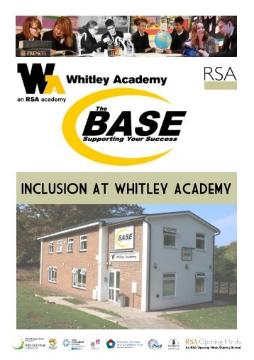 Please download our full brochure for more ... - Whitley Academy