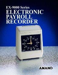 Download EX-9000 Brochure - Cleveland Time Clock