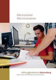 Electronicien Electronicienne - Stiftung Fondation Battenberg