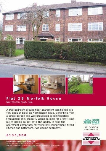 Flat 28 Norfolk House