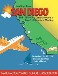 San Diego! - National Ready Mixed Concrete Association