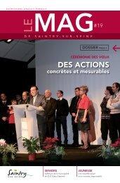 DES ACTIONS - Ville de Saintry-sur-seine