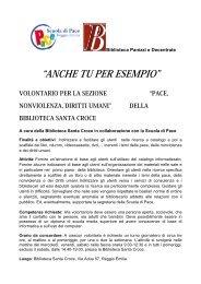 ANCHE TU PER ESEMPIO - Comune di Reggio Emilia