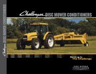 DISC MOWER CONDITIONERS - Challenger