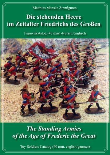 Die stehenden Heere im Zeitalter Friedrichs des Großen The ...