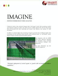 Intelligent Video Solutions - Neugent Technologies