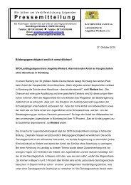 Die Pressemitteilung als PDF - Angelika Weikert, MdL