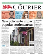 7th November (Issue 1237) - The Courier