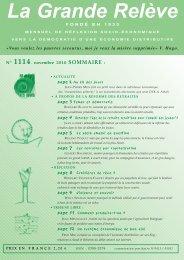 N° 1114 - novembre 2010 - Association pour l'Économie Distributive