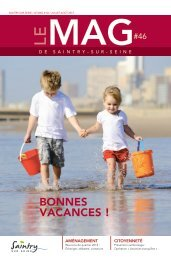 Le Mag 46 - Ville de Saintry-sur-seine