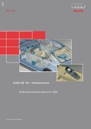 AUDI A8 ´03 - Infotainment Selbststudienprogramm ... - VolksPage.Net