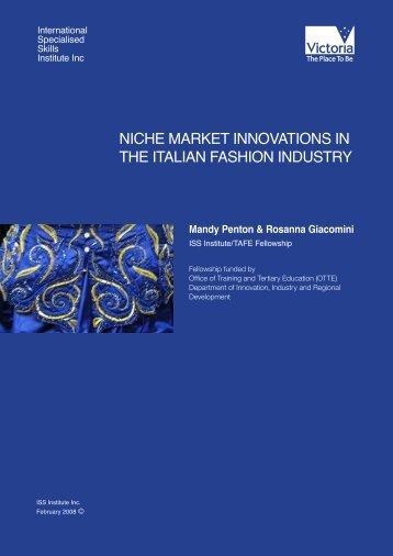 Mandy Penton & Rosanna Giacomini - International Specialised ...