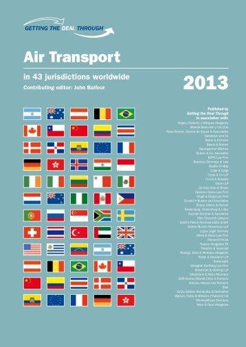 Getting The Deal Through - Air Transport 2013 - Watson, Farley ...