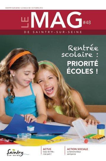 Le Mag 48 - Ville de Saintry-sur-seine