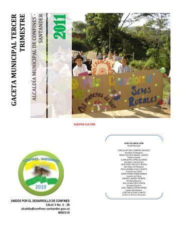Descargar Gaceta Municipal Tercer Trimestre 2011Tipo de archivo