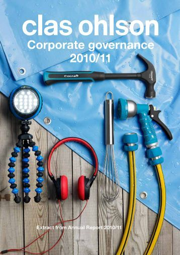 Corporate governance 2010/11 - Clas Ohlson