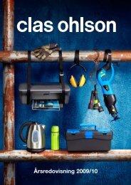 Årsredovisning 2009/10 - Clas Ohlson