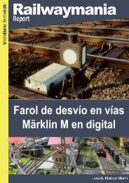 Farol de desvío en vías Märklin M en digital - Railwaymania.com