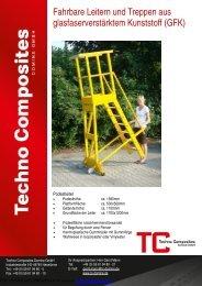fahrbare Leitern und Treppen - TC Domine