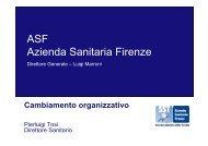 ASF Azienda Sanitaria Firenze - Forges