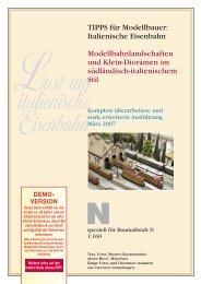 Tipps ital N-Modellbau Teil 1 - Fine Scale München