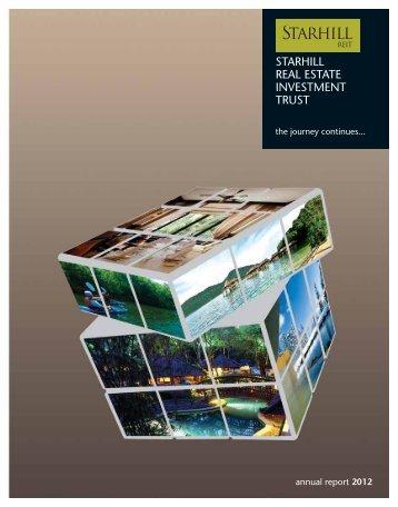Annual Report 2012 - YTL Community