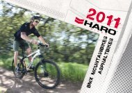 Katalog Haro 2011 - Nordic Bike