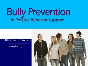 Bully Prevention - The Arc of Texas