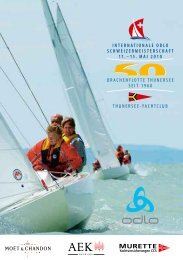 INTERNATIONAL SWISSCHAMPIONSHIP 1 1 - Dragon-class.ch