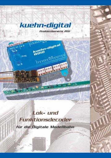 Der neue Katalog 2011 ist da! - kuehn digital