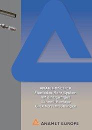 Verschraubung Typ ANAFLEX - Anamet